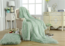 Super Soft Thick Warm Good Quality Faux Fur Blanket