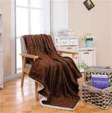 Polyester Super Soft Flannel Throw Blanket