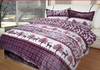 Microfiber Printed Flannel Fleece Blanket