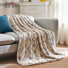 King Size Super Soft Warm Light Flannel Blanket