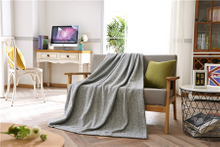 Warm Solid Color Adults Double Sided Flannel Blankets