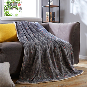 Jacquard Cheap Wholesale Ultra-Soft Flannel Blanket