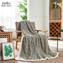 Elegant Soft Cotton Bedding Flannel Blanket